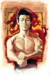Bruce Lee by kohse