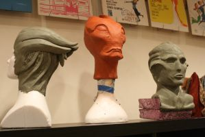 Final sculpts for Mass Effect Cosplay by BrassIvyDesign