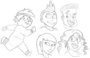 Another sketchdump by Rizatch