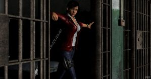 Claire Redfield, back in the game by Mister-Valentine