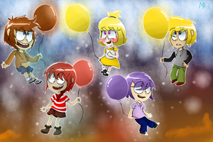 Balloons by Mr-Evilness