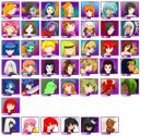 Lolita fighter 2 chars by OCR-ED-209