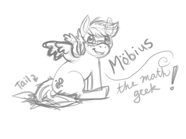 Mobius Digital Doodle by RivkahWinter