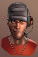 Team Fortress 2 - Scout by RicardoRomanos