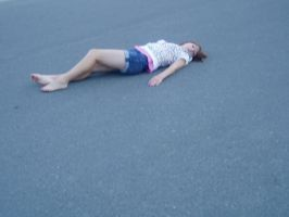 becki dead on th street by kbutilu