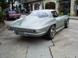 1966 Corvette Sting Ray by Partywave