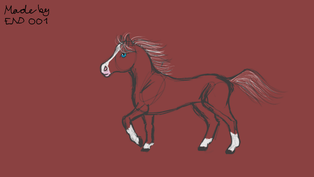 Horse by End001