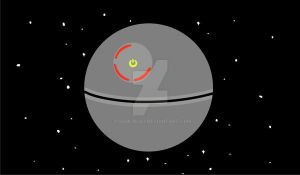 Red Ring Death Star by toadking07