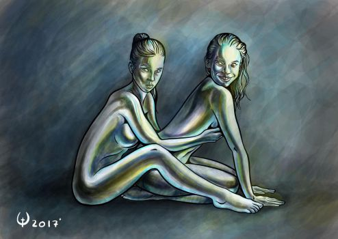 Crome girls by JANEMALL