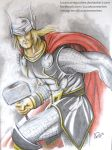 Thor Odin son by LucasConegundes