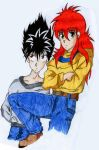 Hiei_and_Kurama by Oilbhe