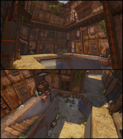 WIP - [UDK] Hive city alley 05 by CougarJo