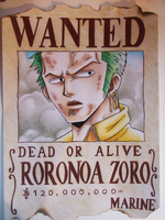 One Piece - Zoro by GR-the-queen