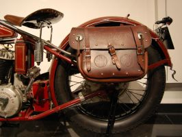 Saddlebags Steve McQueen 1927 Indian 1 of 3 pics by Partywave