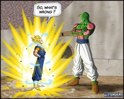 -DBM- Vegetto VS Super namek - color 02 by DBZwarrior