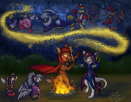 Storytelling by LupusSilvae