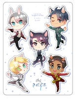 Chibi YOI by wish114