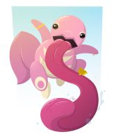 Lickitung (final) by placitte2012