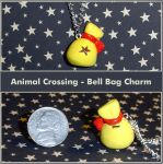 Animal Crossing Bell Bag Charm by YellerCrakka
