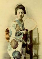 Vintage Japanese lady I by MementoMori-stock