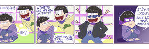 Jyushimatsu's new Outfit by Domestic-hedgehog