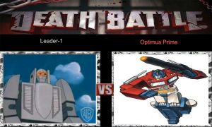 DEATH BATTLE Idea Leader-1 VS Optimus Prime by JefimusPrime