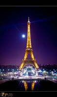 Eiffle Tower by ahmadali