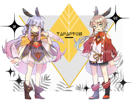 TAPAPYON ADOPTABLE 1 AUCTION   PENDING by LabJusticaholic