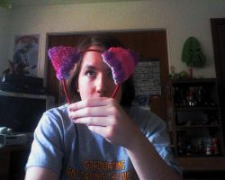 Cheshire Grell Ears by JoeZep5