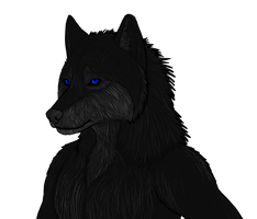 Cole: Werewolf Form by FallDeere