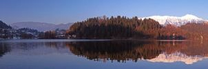 Lake Bled, Panorama by the-drow