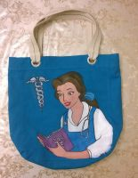 Phi Delta Epsilon/Belle bag  Side 1 by songbirdholly