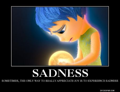 Inside Out: Sadness by BoldCurriosity