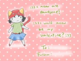 Nepeta Valentine by ForeverMuffin