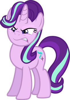 Starlight Glimmer (angry vector) by davidsfire