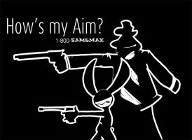 SaM - How's my Aim by Ginny-N