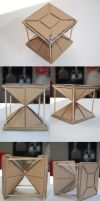 Hourglass Pyramids by chioky
