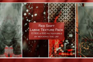 Texture Pack #4 Red Shift by Mocking-The-Jay