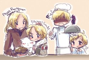APH doodle +bad cooking+ by jinyjin