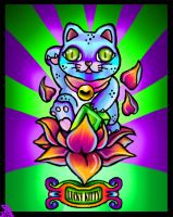 Lucky Cat by TechBehr
