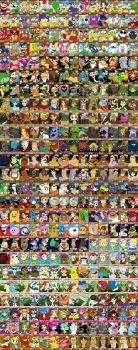 Ninty Cards Complete Collection by HoppyBadBunny