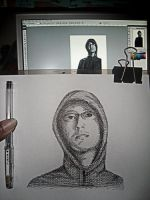 sketching myself.. by altologico6
