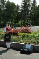 The Bagpipe Panhandler. by MrScourge
