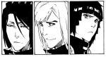BLEACH: Doujinshi panels by Sideburn004