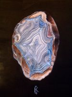 Densely Banded Agate by badgersoph