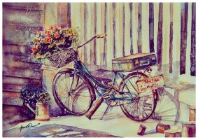 Old bicycle by 1hama