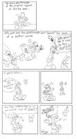 BSC comics: No sword, no shield, no respect. by oshawott17