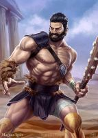 Magnus Ignis - Hercules regular by PeterLumby