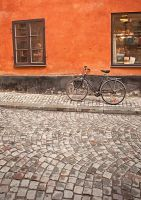 bike_ gamla stan by ivyblue