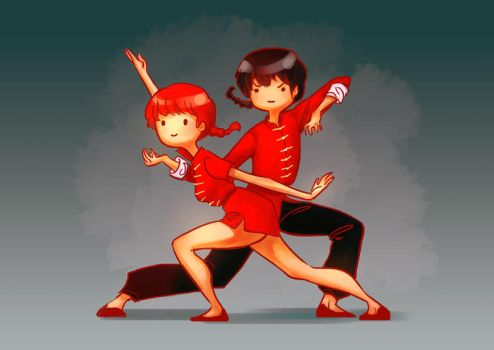 Ranma Adventure time style~ by sscindyss
